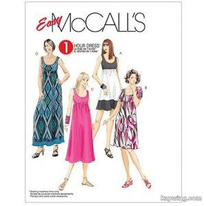 McCall's Sewing Pattern M5893 Cut at Size 18